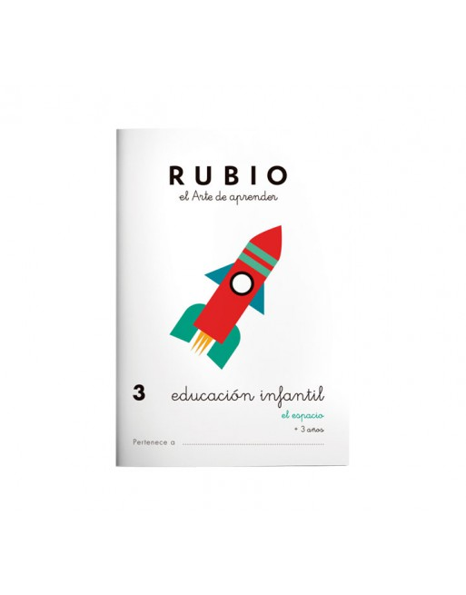 RUBIO PACK 10 CUADERNOS EDU INFANTIL - PR3