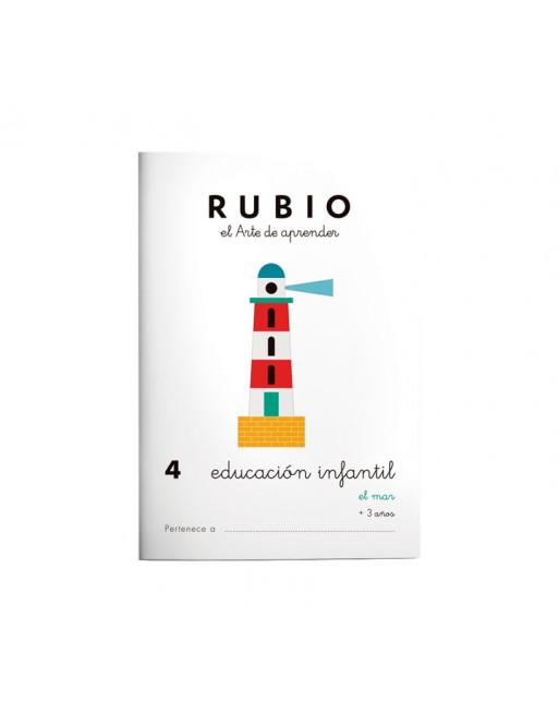 RUBIO PACK 10 CUADERNOS EDU INFANTIL - PR4