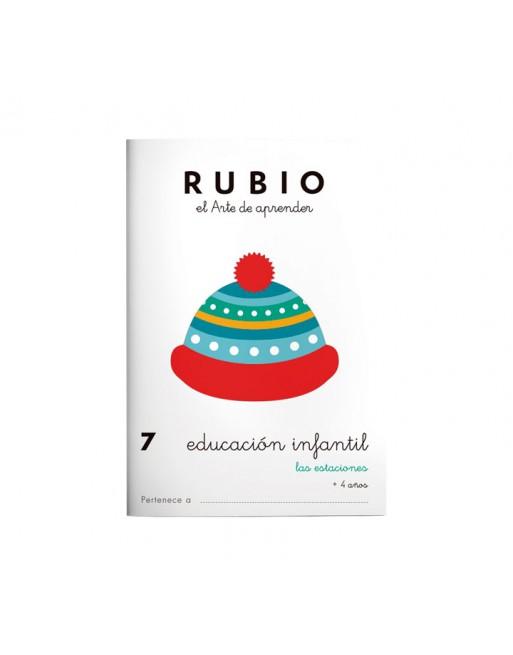 RUBIO PACK 10 CUADERNOS EDU INFANTIL - PR7