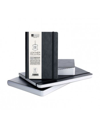 M.RIUS NOTEBOOK FLEXIBLE PIEL 4º CON INDICE 300H 5X5 - 10410
