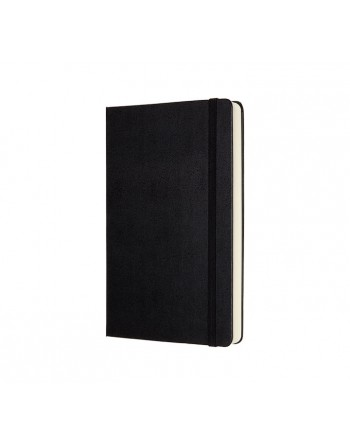 MOLESKINE CUADERNO EXPANDED TAPA DURA 13X21CM L LISO NEGRO - QP062EXP