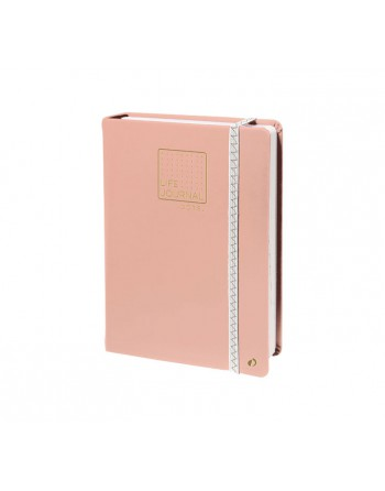 QUOVADIS CUADERNO QUO LIFE JOURNAL DOTS 15X21 ROSA - 237985Q