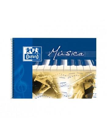 OXFORD LIBRETA MUSICA 4º APAISADO 20H 8 PENTAGRAMA - 100302790