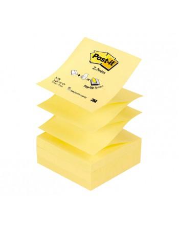 POST-IT BLOC 100H Z-NOTES 76X76 AMARILLO - R-330