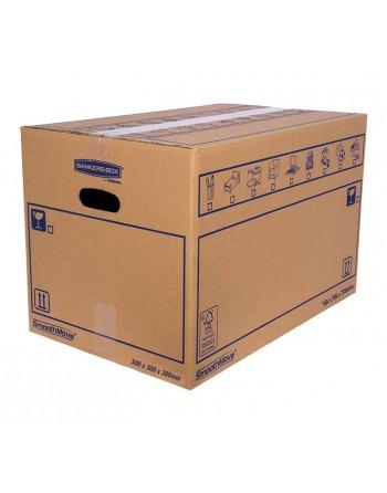 FELLOWES PACK 10 CAJAS MUDANZA 50X30X30 CARTÓN DOBLE 6208201