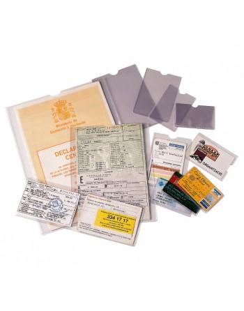 ESSELTE 100 PORTACARNET PVC 122X172MM - 46008
