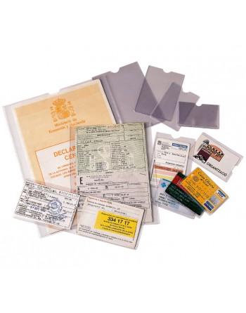 ESSELTE 100 PORTACARNET PVC 171X221MM 1/4 - 46010