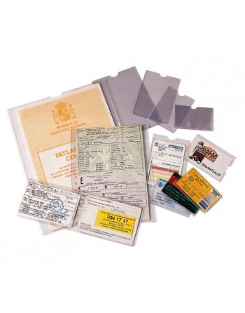 ESSELTE 100 PORTACARNET PVC 67X98MM - 46002