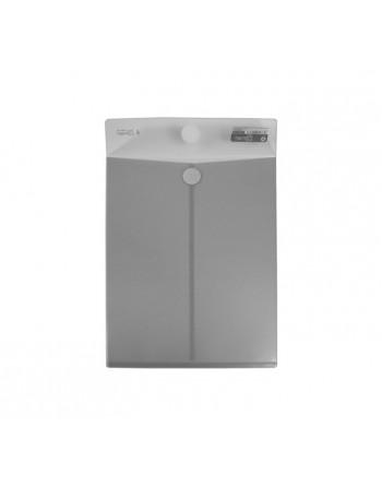 OFFICE BOX 10 BOLSAS CIERRE VELCRO A4+ CLASSIC CRISTAL - 90061
