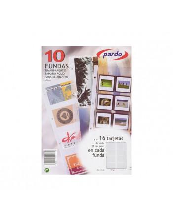 PARDO 10 FUNDAS RECAMBIO A4 - 212800