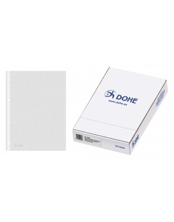 DOHE 100 FUNDAS MULTITALADRO BASIC PLUS 235 X 305 FORMATO A4 - 90581