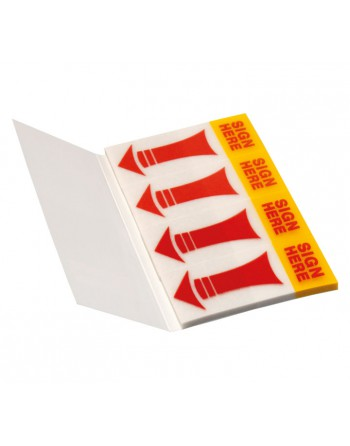 INFO NOTES PACK 4 INDICES MARCADOR 20X50MM SIMBOLOS - 5670-06