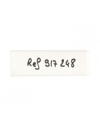 TARIFOLD BLISTER 6U PORTAETIQUETAS MAGNE 25X75MM - 10810