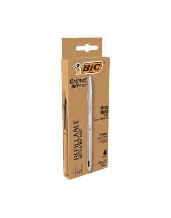 BIC PACK BOLIGRAFO CRISTAL RENEW + 2 RECAMBIOS 997201