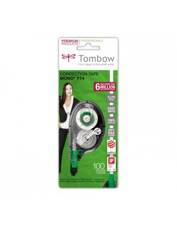 TOMBOW BLISTER CINTA CORRECTOR MONO 4.2MMX10M - CT-Y4(BLISTER) / 7152