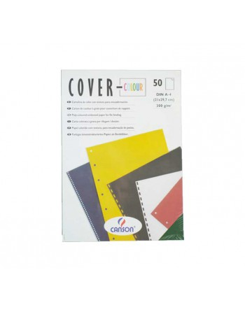 CANSON PACK 50H A4 COVER COLOR MULTI. NEGRO - C200407564