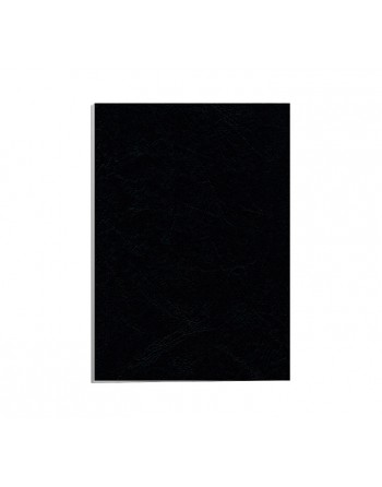 FELLOWES 100 PORTADA A4 250GR NEGRO SIMIL PIEL - 5370405