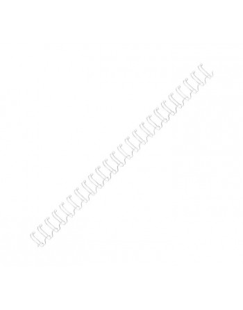 FELLOWES PACK 100 WIRES METALICO 10MM BLANCO - 53262