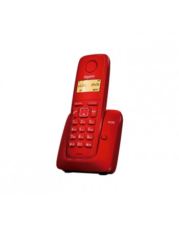 GIGASET TELEFONO INALAMBRICO A120R ROJO - SI-A120R