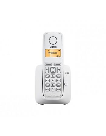 GIGASET TELEFONO INALAMBRICO A120W BLANCO - SI-A120W