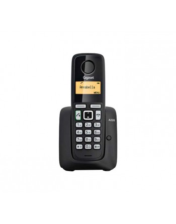 GIGASET TELEFONO INALAMBRICO NEGRO - SI-A220