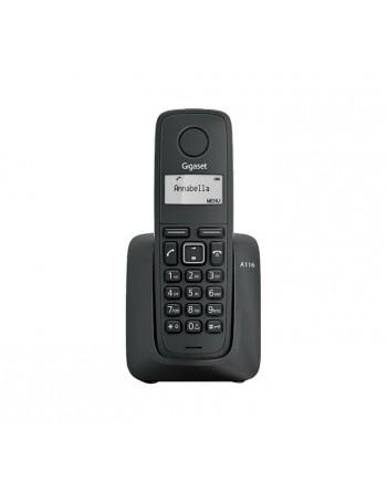 GIGASET TELEFONO INALAMBRICO A116 NEGRO - SI-A116