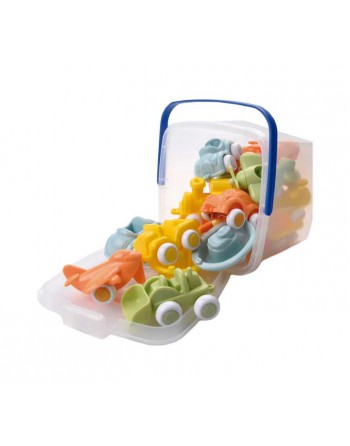 VIKINGTOYS CUBO 15 COCHES INF. ECO CHUBBIES - 20-41140
