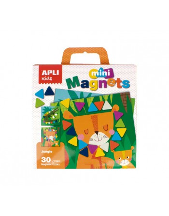 APLI KIDS SET MOSAICO MAGNEJUNGLA - 16815