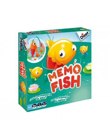 DISET JUEGO MEMO FISH - 62312