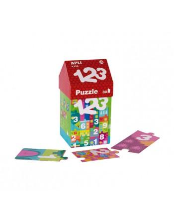 APLI KIDS 30 PIEZAS PUZZLE CASITA 123 - 14806