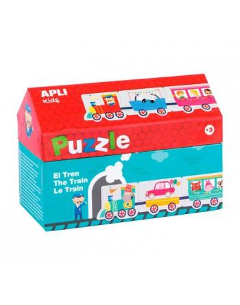 APLI KIDS 20 PIEZAS PUZZLE TREN 2M - 16485