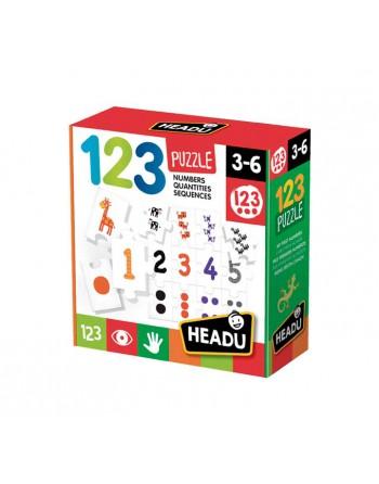 HEADU PUZZLE NUMERICO 123 - 1041749