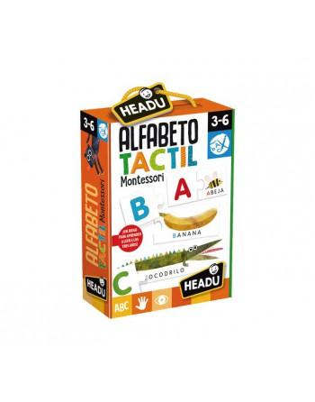 HEADU PUZZLE ALFABETO TACTIL MONTESSORI - 1041744
