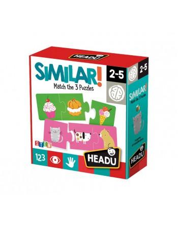 HEADU PUZZLE 36 PIEZAS SIMILAR - 1041736