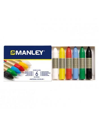 MANLEY 6 CERAS SURTIDO REF106 - MNC00022