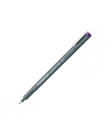 STAEDTLER 10 ROTULADOR CALIBRADO PIGMENT LINER 308 0.3MM VIOLETA - 308 03-6