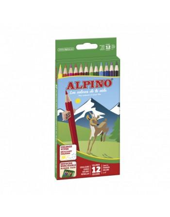 ALPINO 12 COLORES 654 LARGOS - AL010654