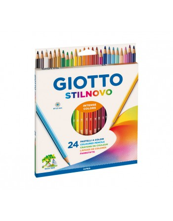 GIOTTO 24 LAPICES STILNOVO 3.3MM.SURTIDO - 256600