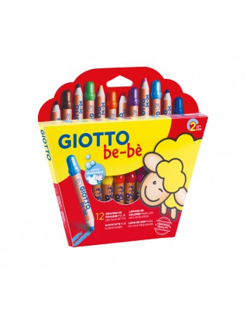 GIOTTO 12 LAPICES DE COLORES BE-BE - 469700