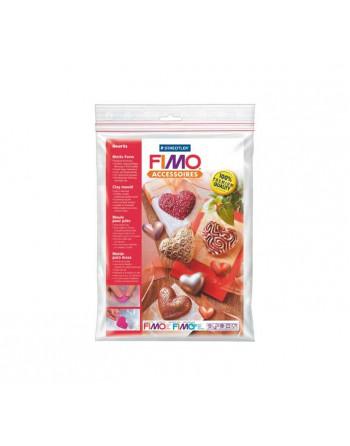 FIMO BLISTER 8U MOLDES CORAZONES - 8742 26