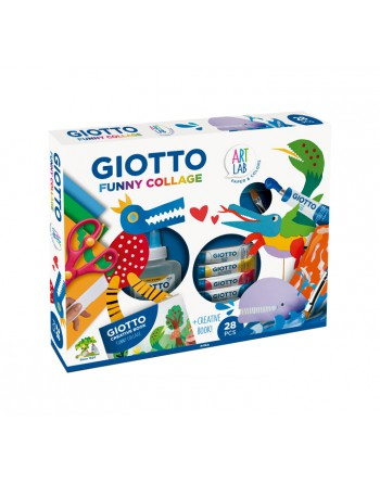 GIOTTO SET FUNNY COLLAGE+ACCES. - 581500