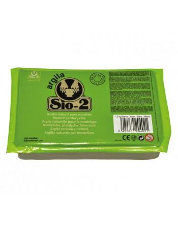 SIO-2 PACK 8U. ARCILLA BLANCA 1.5KG - 2044000110
