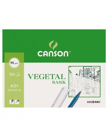 CANSON BLOC 50H PAPEL VEGETAL A3+ 90G - C200400713