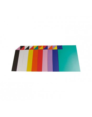 CLAIREFONTAINE 50 CARTULINA BICOLOR 150G 50X32.5 ST - 457399C