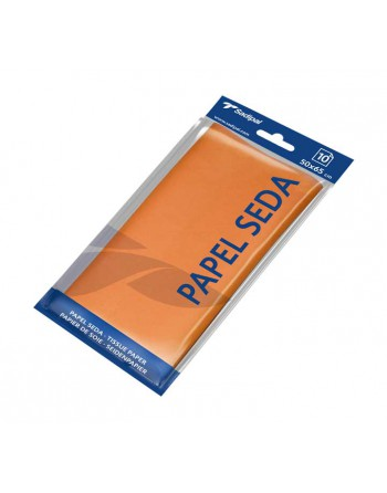 SADIPAL BLISTER 10H PAPEL SEDA 50X65CM NARANJA - 06236