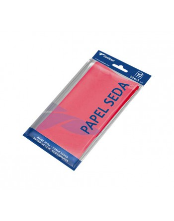 SADIPAL BLISTER 10H PAPEL SEDA 50X65CM ROJO 0 - 6237