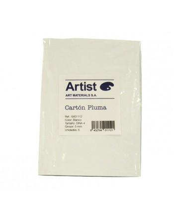 ARTIST BLISTER 5H CARTON PLUMA A4 5MM BLANCO - 6401112