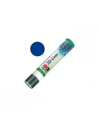 MARABU ROTULADOR TEXTIL 3D-LINER 25ML AZUL MEDIO - 180309652
