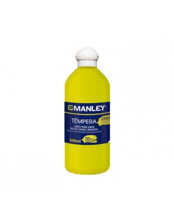 MANLEY BOTE 500ML TEMPERA AMARILLO L - MNP18625