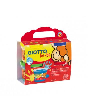 GIOTTO PINTURA DEDOS 4X150G BEBE - 467200